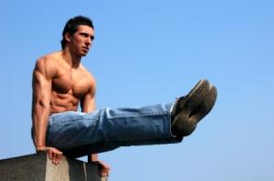 Muscular Gymnast