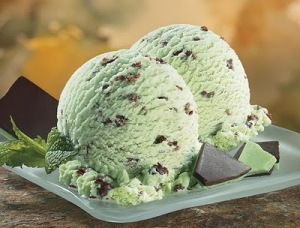 ice cream mint