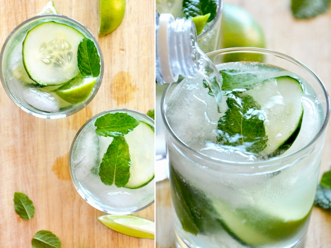 Refreshing Cucumber Limeade