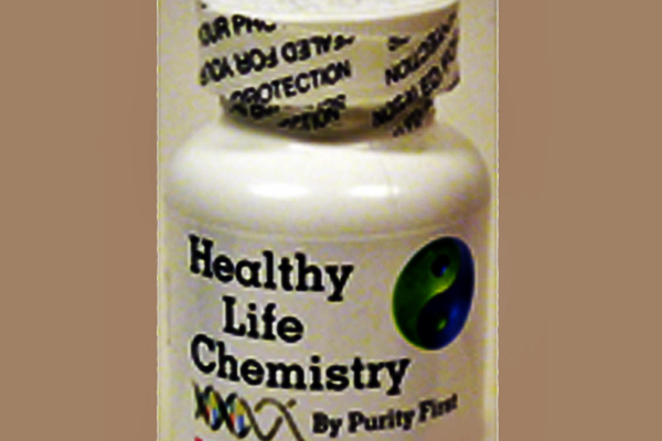 WARNING: The Vitamin B supplement Healthy Life Chemistry By Purity First B-50 contains illegal & harmfulsubstances