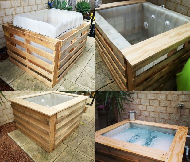 Diy homemade swimming pool gallery janegrok for Container maison legislation