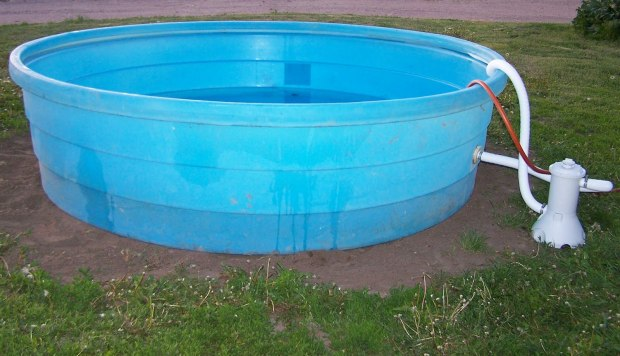 Diy homemade swimming pool gallery janegrok How to draw swimming pool water