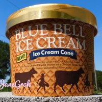 What's in it: Blue Bell Ice Cream - Ice Cream Cone