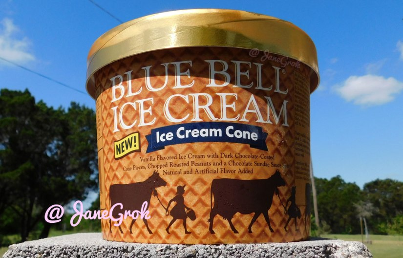What's in it: Blue Bell Ice Cream – Ice Cream Cone