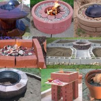 DIY Backyard BBQ set-ups