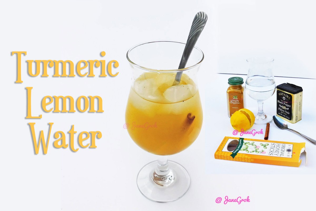 Turmeric Lemon Water  - so many benefits!